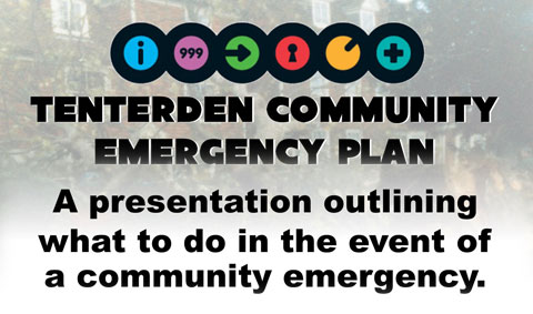 Tenterden Community Emergency Plan Information Evening