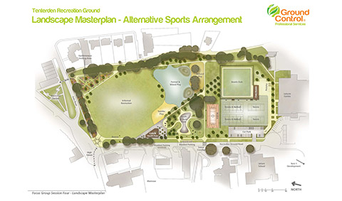 Tenterden Recreation Ground Project – Further Option Released Today!