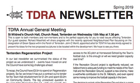 TDRA Newsletter Spring 2019