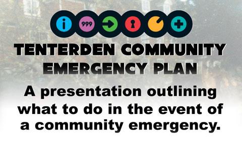 Tenterden Community Emergency Plan Information Evening