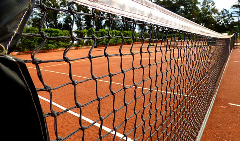 Where is this mentioned in the Lipton Group Report? LTA support the development of community tennis facilities…
