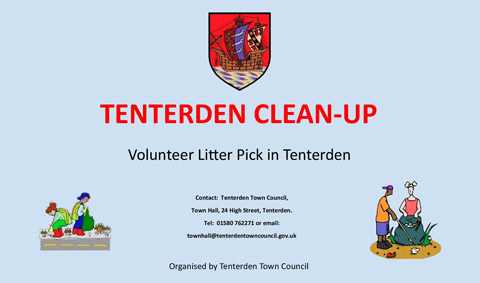Volunteer Litter Pick in Tenterden