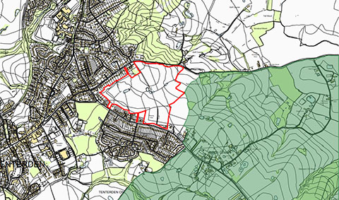 Raising public awareness to the Limes Land hybrid planning application 19-01788-AS