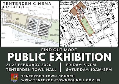 Public Exhibition: Tenterden Town Hall 21-22 February 2020