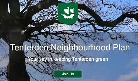 Read more: Letter from Tenterden Neighbourhood Plan Steering Committee – presentation on progress